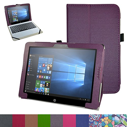 Schutzhülle für HP Pavilion X2 12 (12 Zoll) HP Pavilion x2 12 12-b020nr 12-b010nr Windows 10 Tablet 2016, Violett