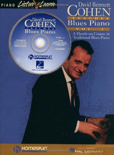 David Bennett Cohen Teaches Blues Piano, Volume 2 [With *] (Listen & Learn)