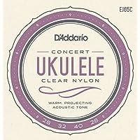 Daddario EJ65C Pro-Arte Custom Extruded Nylon Konzert Ukulele Saitensatz