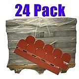 24er Pack Dachschindeln Bieberschwanz Rot 84 m² Profi