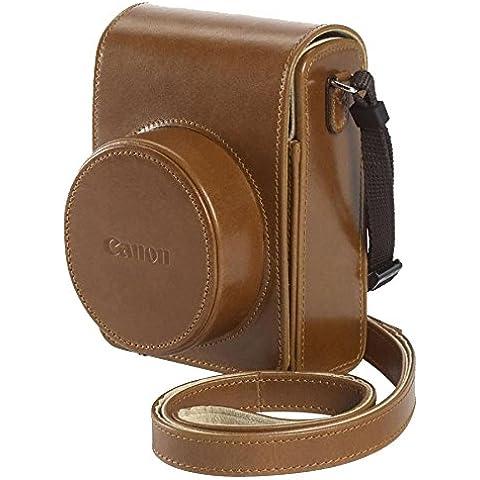 Canon DCC-1820 - Funda retro para cámara Canon Powershot G1 X II, marrón