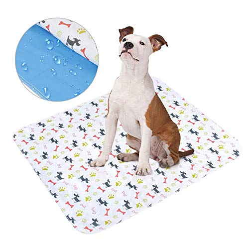 Trainingsunterlagen für Hunde | Puppy Training Pee Pads | Dog Pee Pads | Leakproof Puppy Training Pads | Reusable & Super Absorbent Puppy Piddle Pads | for Incontinence, Whelping, and Potty -
