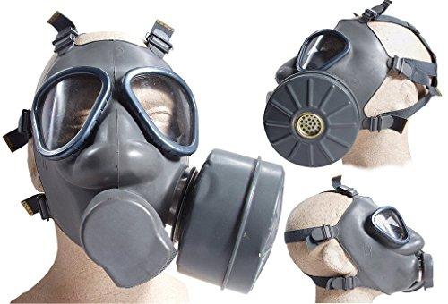 Finnische Schutzmaske US Modell M9 mit Filter neuwertig Gasmaske ABC-Ausrüstung