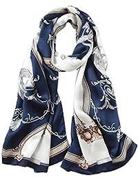 0c3c6b0280692 Seidenschals Damen 100% Seiden Schal Elegante Seidentuch Hohe Qualität  Hautfreundlich Anti-Allergie Halstuch Tuch