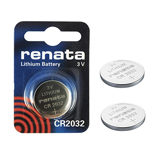 2 x Renata CR2032 Swiss Made 225mAh Batterien Zelle Münze Schaltfläche Watch 3V-Lithium-Batterie (Cr2032 Lithium-batterie 3v Renata)