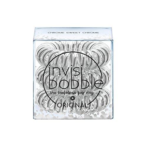 Invisibobble originale time to shine edition chrome sweet invisibobble-elastico per capelli anello