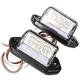 1 Paar 12 V 3 leds Nummer Kennzeichenbeleuchtung Rückleuchte Lkw-anhänger Lkw Auto Lichter Weiß