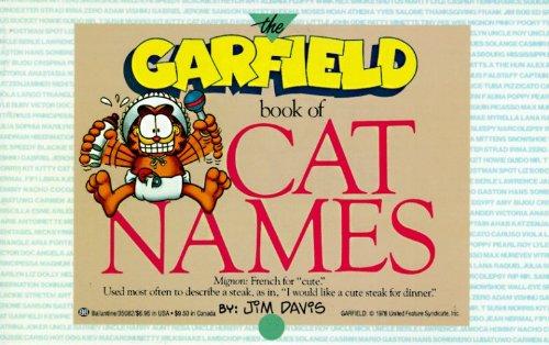 Garfield Book of Cat Names by Jim Davis (1988-06-12)