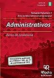 Administrativos de la Junta de Andalucia. Temario. Volumen 2 (Oposiciones)