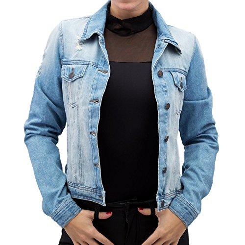 Vero Moda Femme Vestes & Blousons / Veste demi-saison vmAnger Bleu