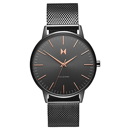 MVMT Damen Analog Quarz Uhr mit Edelstahl Armband D-MB01-GUM