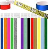 """100 pièces bracelet identité Tyvek 19mm / 25mm, various colors (néon vert, 19mm (3/4""""))"""