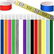 1.000er Pack Securebänder Tyvek 19mm und 25mm, verschiedene Farben wählbar (Gold, 25mm)