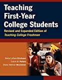 Teaching First-Year College Students (Jossey-Bass Higher and Adult Education)
