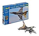 Revell- Maqueta Lockheed Martin F-16 C Solo Türk, Kit Modello, Escala 1:72 (4844) (04844)
