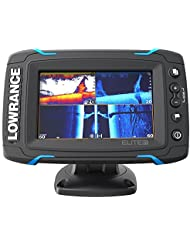 Lowrance Elite 5 Ti Transductor Mid/High/TotalScan