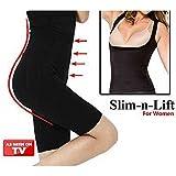 Shopping Tadka Women Slim N Lift California Beauty Body Shaping Undergarment Flatter Tummy,Slimmer Thighs,Lift Butt, Body Shaper Size XL (Black)
