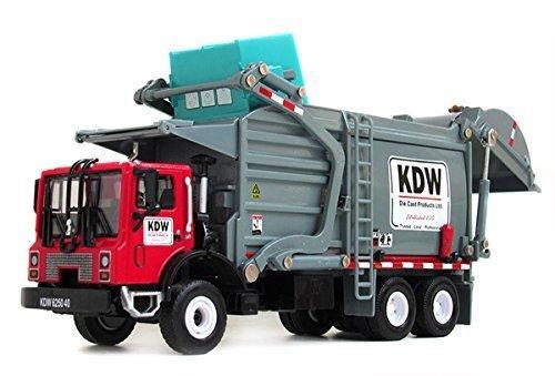Damara Wheeled Dump Truck Toys Model Car,Red by Damara (Truck Red Dump)