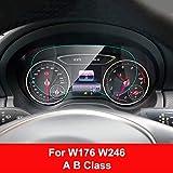 FANGPAN Pellicola salvaschermo per cruscotto auto, per Mercedes W204 W176 W213 X204 W453, per Smart Fortwo Forfour ACE GLK Class