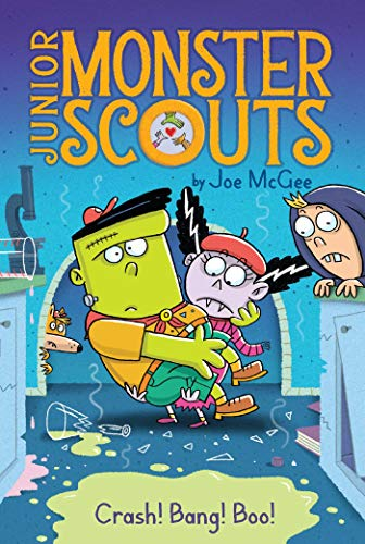Crash! Bang! Boo! (Junior Monster Scouts Book 2) (English Edition)