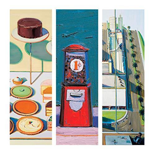 Lesezeichen Geschenke für Buchliebhaber Bücher für Leser Wayne Thiebaud Kuchen & mehr Set 3
