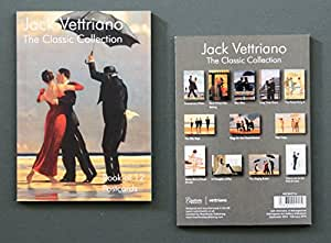 Affiche :  Jack Vettriano-Classic Collection-Carnet de 12 cartes postales