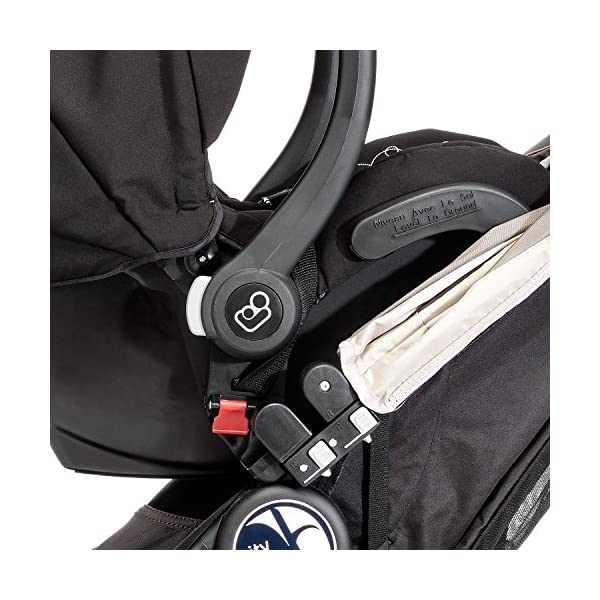 Baby Jogger Multi Car Seat Adaptors Mini, GT,Elite,Summit Black  Convert your stroller into a travel system with these adaptors Designed to fit the Maxi-Cosi CabrioFix and Pebble car seats Easy to fit, quick to release, and easy to remove 2