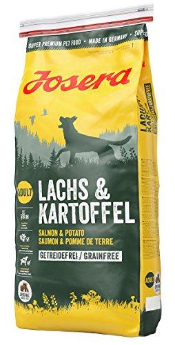 Josera Lachs und Kartoffel Hundefutter, 1er Pack (1 x 4 kg)