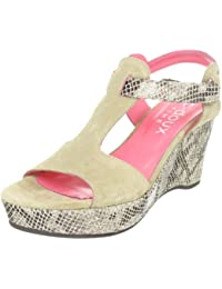 C. Doux 6022 6022 - Sandalias de vestir de ante para mujer