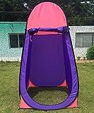 HAIPENG Outdoor-Umkleidezelt Mobile Bad Toilette Fotografie Fischerei Zelt Es Stehen Zwei Farben Zur Verfügung (Farbe : 1#, größe : 120 * 120 * 190cm)
