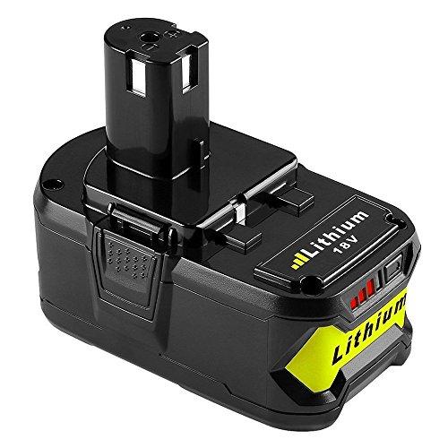 Forrat für Ryobi Akku 18V 5.0Ah RBL1850 Lithium Ersatzakku Werkzeugakkus P104 P105 P102 P103 P107 P108 (P105 Ryobi)