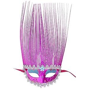 WIDMANN Domino cresta holográfica rosa adulto Cualquier día