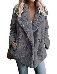 Manteau Femmes À Capuchon Hiver Chaud Laine Zipper Manteau Coton Manteau  Veste Manches Longues Hoodie b98dc2b1ff0f