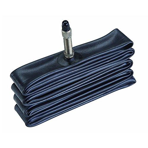 """Prophete 135 - Cámara de aire antipinchazos (28-27"""") con válvula Dunlop, color negro"""