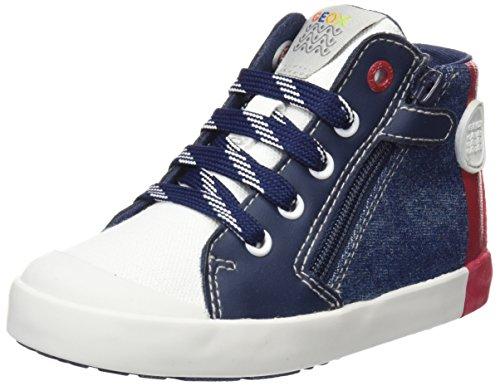 Geox Baby Jungen B Kilwi Boy D Sneaker, Blau (Avio/Red), 25 EU (Schuhe Baby Boy)