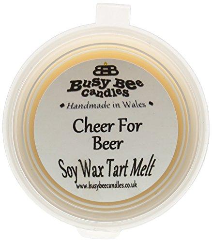 Scheda dettagliata Busy Bee Candles Cheer per Tart in Cera alla fragranza di, Motivo Gelato Che Si scioglie, Colore: Giallo, Set da 6