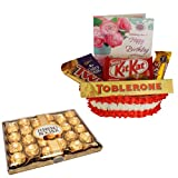 Birthday Wishes Gift With 24 Pcs Ferrero Rocher