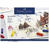 Faber-Castell 128272 Demi pastel carre tendre boîte de 72