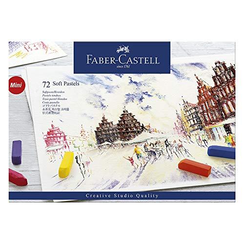 Faber-Castell 128272 - Softpastellkreide STUDIO QUALITY mini, 72er Etui