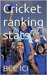 Cricket ranking stats (sports stats Book 22) (English Edition)
