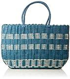 Esprit Accessoires Damen Trish Shopper Henkeltasche, Blau (Blue), 15x29x38 cm