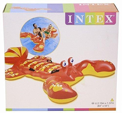 Intex - Aufblasbarer Lobster zum Schwimmen, 213cm x 137cm