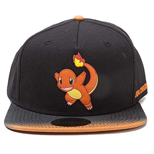 Pokemon-fedsb290203pok–Charmander-parche-de-goma-con-tinte-efecto-gorra-talla-nica