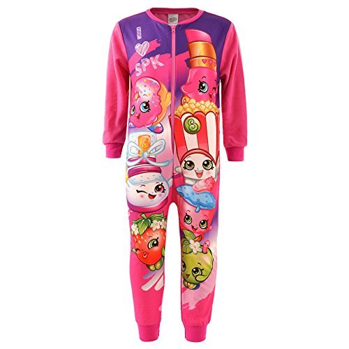 Kids Girls Boys Character Fleece Onesie Pyjamas Nightwear TV Paw Patrol Marvel