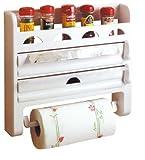 Toyma 555 Küchenrollenhalter mit Gewürzregal