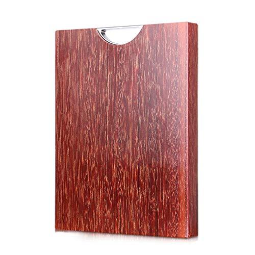 Schneidebrett LXJT Authentische Importierte Vietnamesische Eisen Holz Haushalt Küche Ganze Holz Starke Rechteckige Massivholz Tiefe Wartung 33 * 22 *   3 cm - Holz-messer Personalisierte
