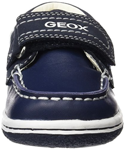 Geox Baby Jungen B Flick Boy C Lauflernschuhe Blau (Navy/whitec4211)