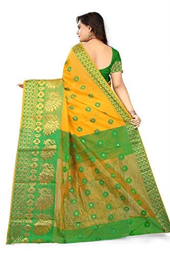 Anghan Brothers Cotton Saree With Blouse Piece 2