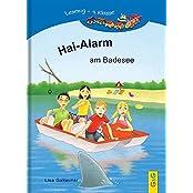 Hai-Alarm am Badesee: Lesezug 4. Klasse