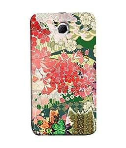 PrintVisa Designer Back Case Cover for Lenovo S880 (White Love Valentine Pink Background Designer Case Lovers Cell Cover girlfriend Smartphone Cover I love you gift a )